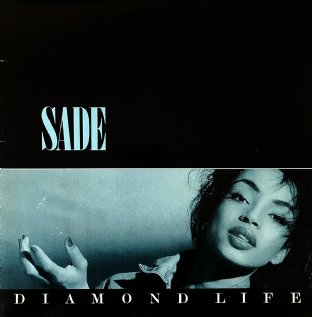Sade ‎- Diamond Life (LP) (G-VG/VG-)